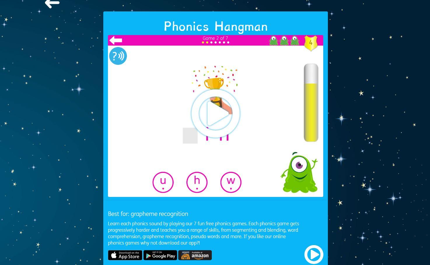 grade 2 phonics games online