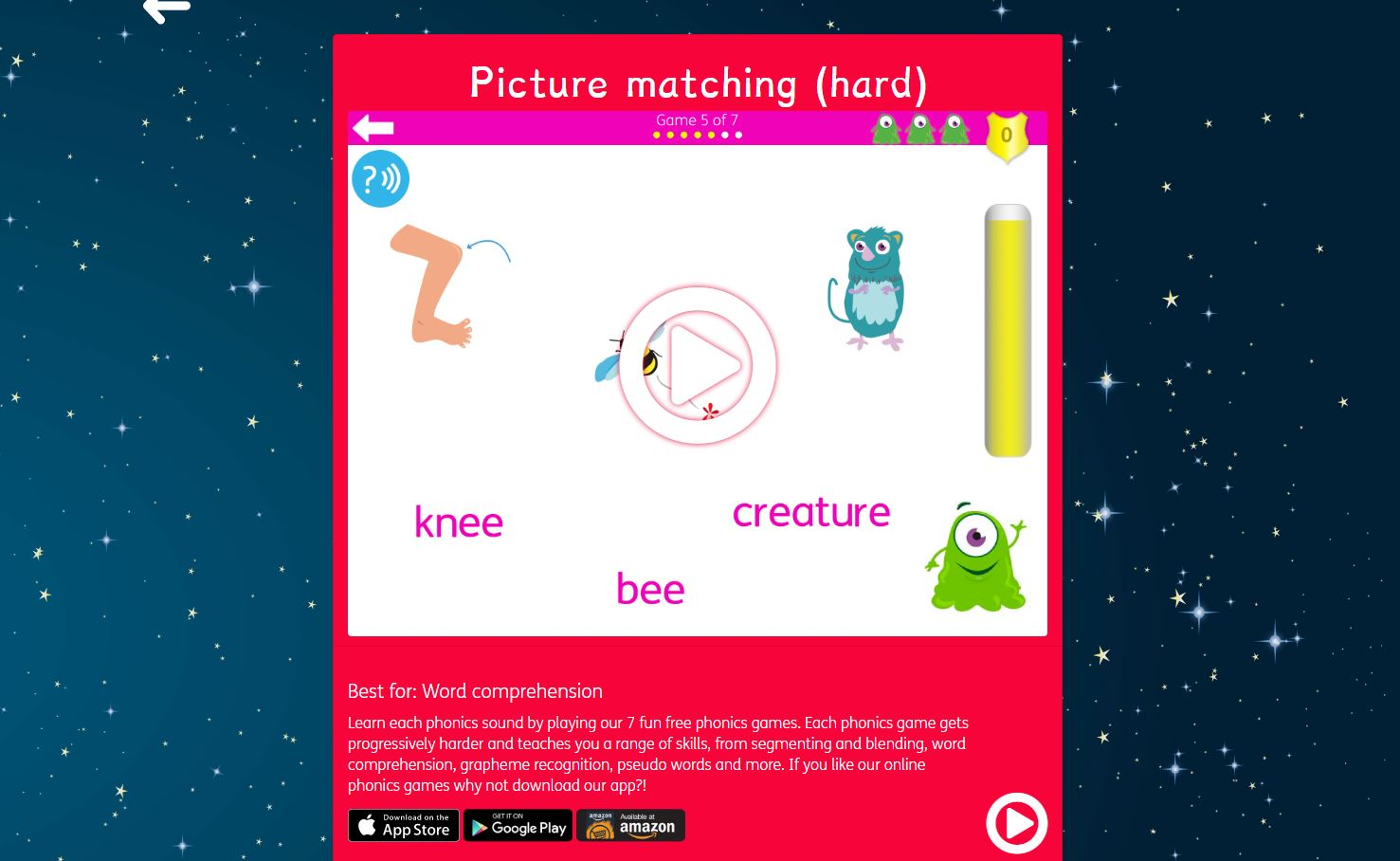 - 10 Best Free Online Phonics Games Free Learn To Read Games